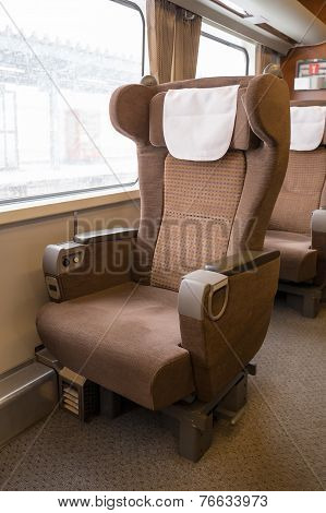 First Class Seat On The Train