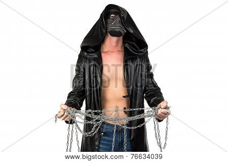 Photo of young man with the chain
