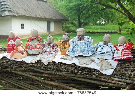 Traditional Handmade Rag Dolls.