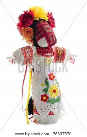Folk Handmade Doll.