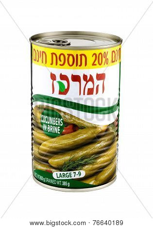 Can Of Cucumbers In Brine Hamerkas