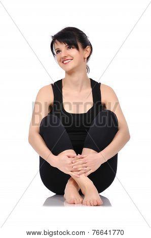 Balet Dancer Sitting