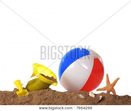 Beach Play Border