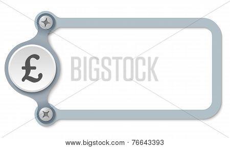 Sterling Symbol