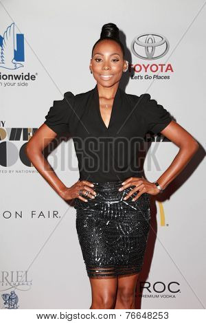 LOS ANGELES - NOV 19:  Erica Ash at the Ebony Power 100 Gala at the Avalon on November 19, 2014 in Los Angeles, CA