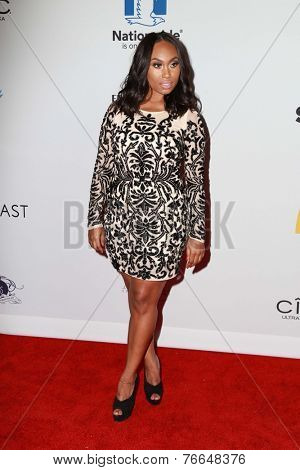 LOS ANGELES - NOV 19:  Angell Conwell at the Ebony Power 100 Gala at the Avalon on November 19, 2014 in Los Angeles, CA