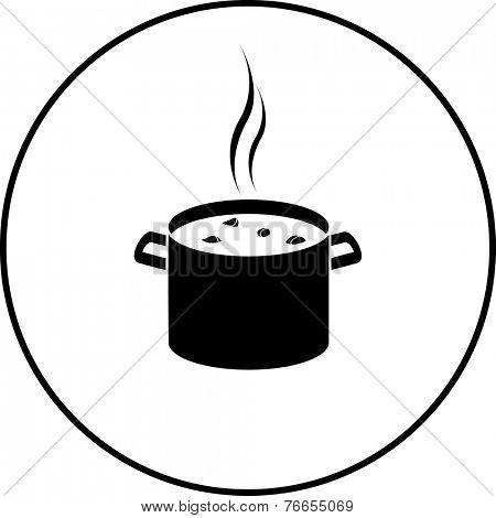 stew in stockpot symbol