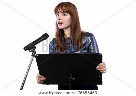 Public Speaking Female