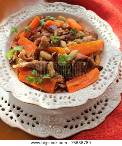 goulash with vegetables