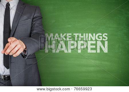 Make things happen on blackboard
