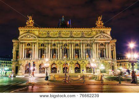 The Palais Garnier (national Opera House) In Paris, France