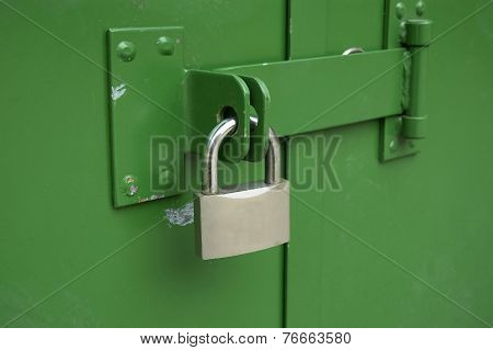 The Hinged Mechanical Lock On Doors