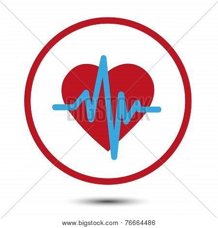 Vector health heart symbol