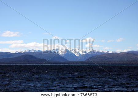 Sunset View At Bariloche