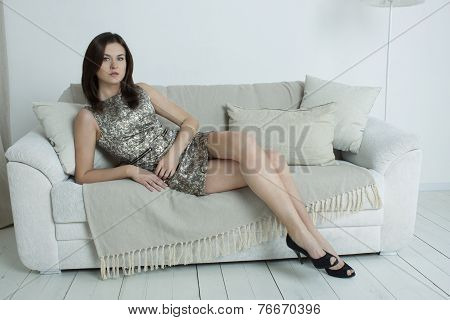 The Girl On The Couch. Emotions