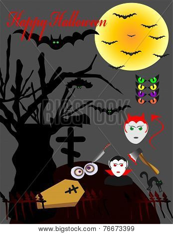 The Vampire The Moon And Mouse Bats For A Holiday