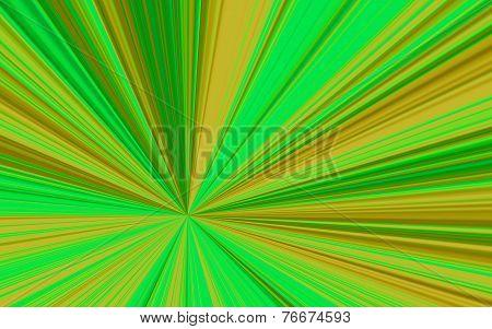 Illustration Of Colorful Pastel Sunburst - Digital High Resolution