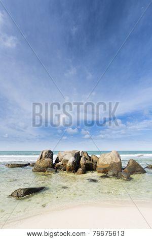 North Beach, Mahe, Seychelles