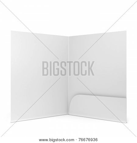 Blank Paper Folder