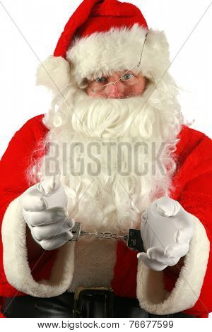 CAUGHT RED HANDED! Santa Claus Caught STEALING COOKIES FROM A COOKIE JAR ON CHRISTMAS EVE. Santa Claus was caught and web cam and arrested after stealing cookies from a cookie jar on Christmas Eve/