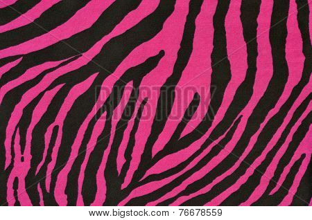 Pink and black tiger pattern.