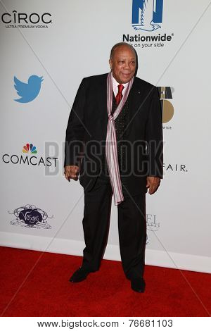 LOS ANGELES - NOV 19:  Quincy Jones at the Ebony Power 100 Gala at the Avalon on November 19, 2014 in Los Angeles, CA