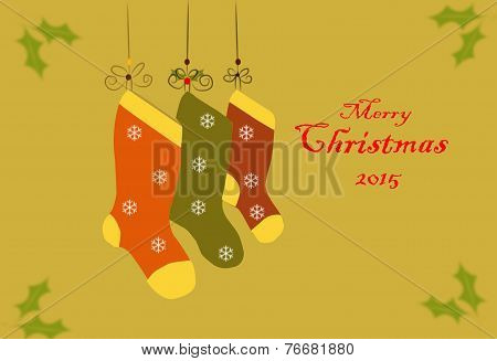 Christmas Card With Text 02