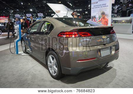 Chevrolet Volt Car On Display