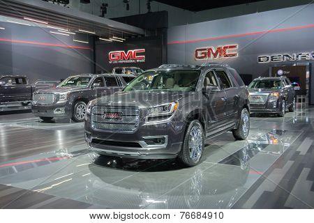 Gmc Trucks On Display