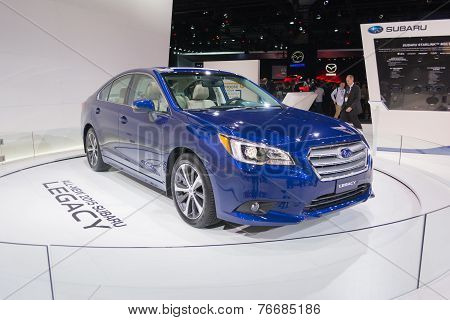Subaru Legacy 2015 On Display