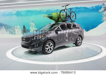 Kia Sportage 2015 On Display