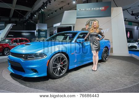 Dodge Charger Srt 2015 On Display