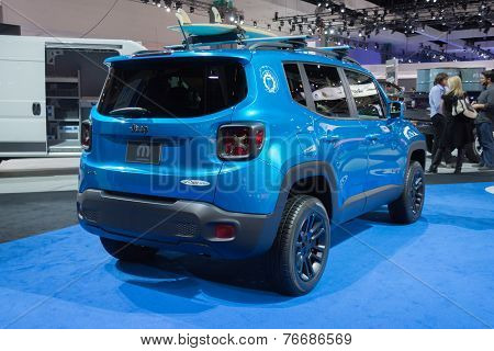 Jeep Renegade Riptide 2015 On Display