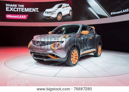 Nissan Juke 2015 On Display