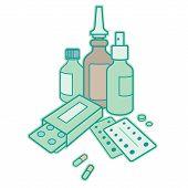 image of antibiotics  - Medicine  - JPG