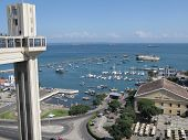picture of elevators  - Lacerda elevator in Salvador da Bahia - JPG