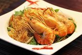 stock photo of glass noodles  - Thai food - JPG