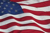 picture of american flags  - American flag 1 - JPG