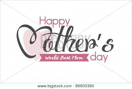 Happy Mother's Day Typographical