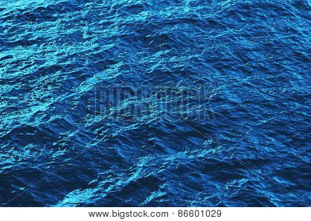 Blue Water Ripple