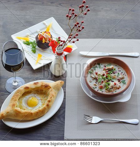 Traditional Georgian Food