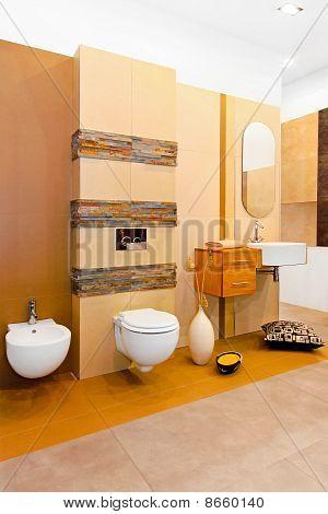 Nature Style Bathroom