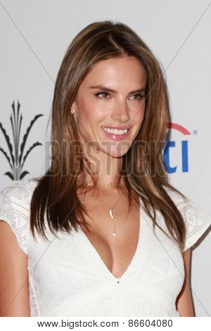 LOS ANGELES - MAR 28:  Alessandra Ambrosio at the Simply Stylist LA at the The Grove on March 28, 2015 in Los Angeles, CA