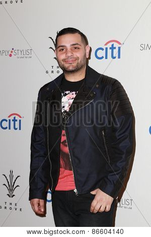 LOS ANGELES - MAR 28:  Michael Costello at the Simply Stylist LA at the The Grove on March 28, 2015 in Los Angeles, CA
