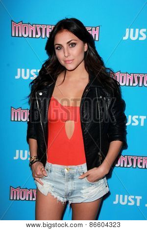 LOS ANGELES - MAR 26:  Cassie Scerbo at the Just Jared's Throwback Thursday Party at the Moonlight Rollerway on March 26, 2015 in Glendale, CA