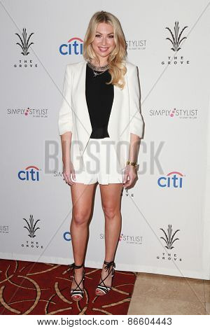 LOS ANGELES - MAR 28:  Stassi Schroeder at the Simply Stylist LA at the The Grove on March 28, 2015 in Los Angeles, CA