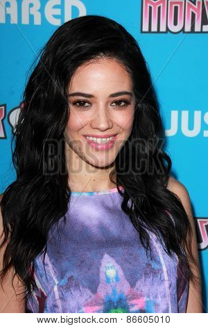 LOS ANGELES - MAR 26:  Edy Ganem at the Just Jared's Throwback Thursday Party at the Moonlight Rollerway on March 26, 2015 in Glendale, CA