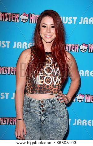 LOS ANGELES - MAR 26:  Jillian Rose Reed at the Just Jared's Throwback Thursday Party at the Moonlight Rollerway on March 26, 2015 in Glendale, CA