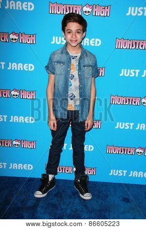 LOS ANGELES - MAR 26:  J.J. Totah at the Just Jared's Throwback Thursday Party at the Moonlight Rollerway on March 26, 2015 in Glendale, CA