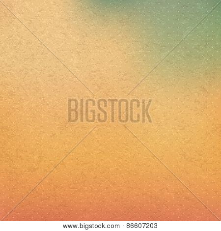 Abstract background with sky and clouds. Vintage style. Vector illustration. Can be used for wallpaper, web page background, web banners.